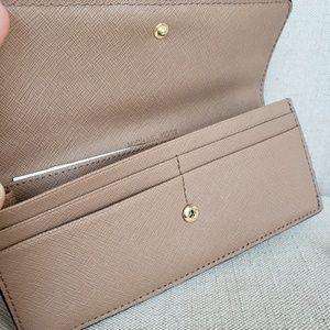 Michael Kors Bags - SOLD 🌺NWT Michael Kors Travel Flat Wallet Khaki